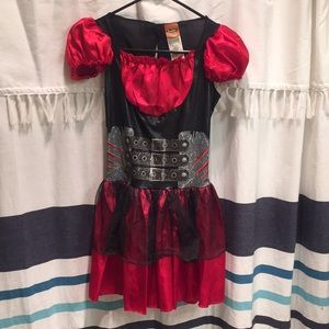 Little red riding wolf costume for girls